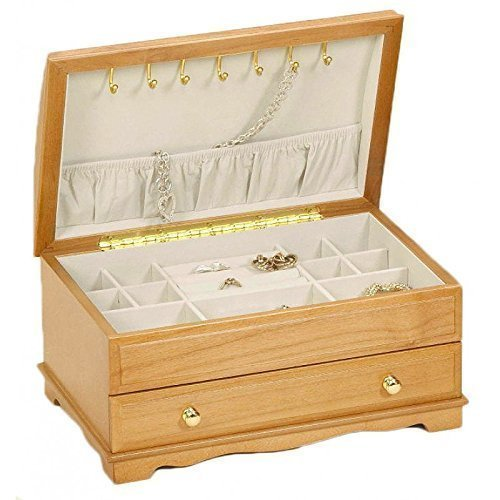 "Lionite Mele ""Elise"" Inlayed Wooden Jewellery Box"