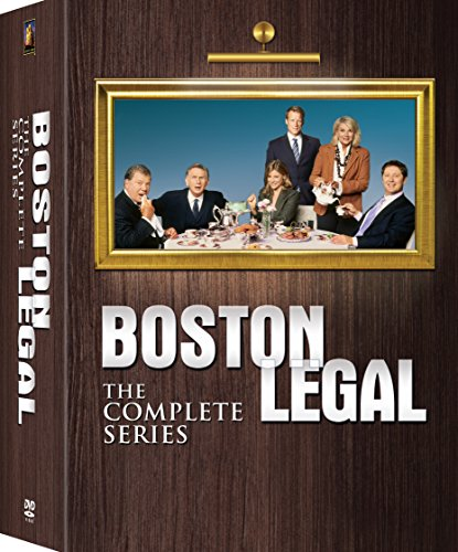 Boston Legal Complete Collection Season 1 - 5 dvd