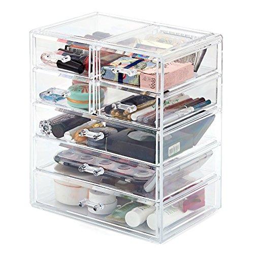 ezoware-organisateur-de-cosmetique-maquillage-bijoux-7-tiroirs-acrylique-transparent-boite-de-rangem