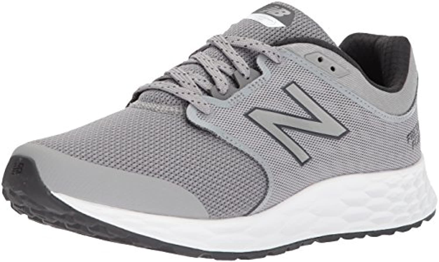 New Balance Men's 1165v1 Fresh Foam Walking Shoe  Grey/Black  9 2E US