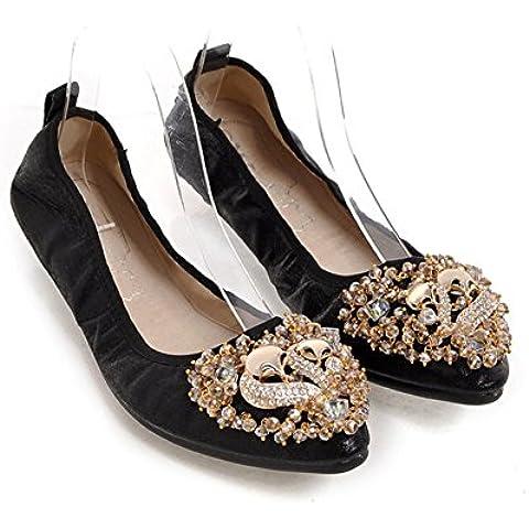 Primaverile e autunnale scarpe a punta piatte/