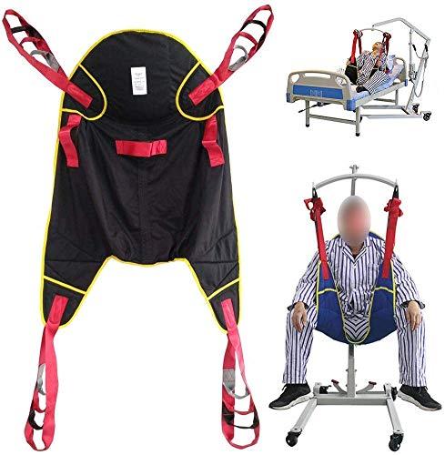 519fev1p00L - Eslingas Elevación Paciente Dividido Pierna Transferir Almohadillas Cinturón médico de la Marcha, Cadera Cintura Apoya Muslo Levantadores con Seguridad De Amortiguación Acolchada