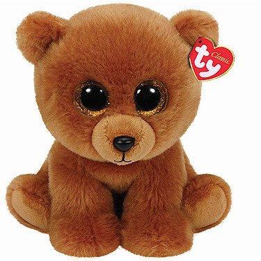 ty-beanie-babies-brownie-lourson-brun-peluche-25-cm