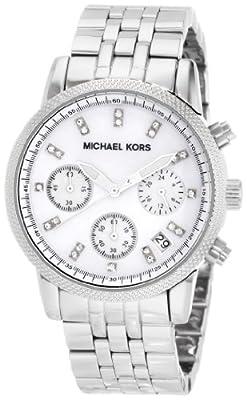 Michael Kors MK5020 de cuarzo, correa de acero inoxidable color plata