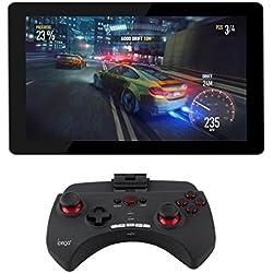 'Sans fil Bluetooth Jeu taxe Pupitre Manette Joystick Manette pour Blaupunkt Atlantis 1001A 10.1Inch Tablet PC