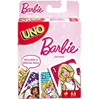 Mattel Games UNO Barbie Card Game