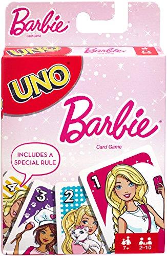 Mattel Spiele FMP71 Uno - Gioco di Carte Barbie, Multicolore