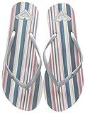 Roxy (ROY11) Bermuda-Flip-Flops for Women, Infradito Donna, Blue/White Bwt, 40 EU
