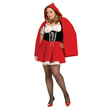 Rubie's Official Ladie's Red Riding Hood, Adult Costume - Plus ...
