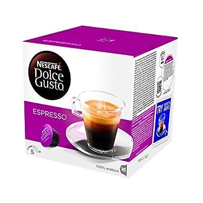 Nescafe Dolce Gusto Espresso Storage Box 3x30Capsules Pack of 90Capsules)