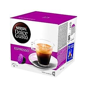 NESCAFÉ DOLCE GUSTO ESPRESSO Caffè espresso 6 confezioni da 16 capsule [96 capsule]