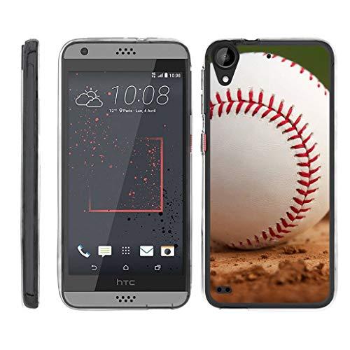 TurtleArmor Schutzhülle für HTC Desire 530 (Flexibler Panzer), flexibel, Schlankes Design, flexibel, flexibel, für Sport und Spiele, Baseball Dirt (Htc Desire Virgin Mobile)