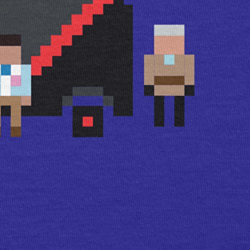 NERDO - The Pixel Team - Herren T-Shirt Marine