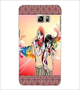 PrintDhaba Singing Girls D-2486 Back Case Cover for SAMSUNG GALAXY NOTE 5 EDGE (Multi-Coloured)