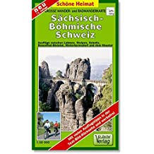 Doktor Barthel Wander- und Radwanderkarten, Sächsisch-Böhmische Schweiz, Große Wanderkarte (Schöne Heimat)