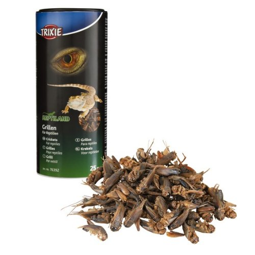 Trixie Reptilien - Grillen, getrocknet; 25 g / 250 ml