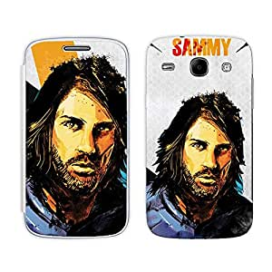 Bluegape Samsung Galaxy Core i8262 Georgios Samaras Football Player Phone Skin Cover, Blue