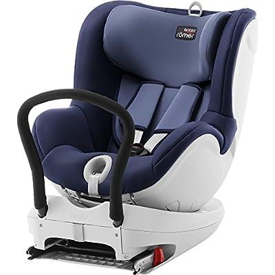 Britax Römer Dualfix – Silla de coche, grupo 0+/1 (nacimiento-18 kg), color Moonlight Blue