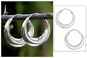 Chandrika Pearls Salman Khan Inspired 925 Silver Hoop Earring