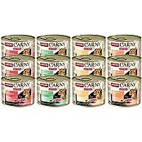 animonda Carny Kitten Katzenfutter, Nassfutter für junge Katzen,  Mix  pack (12 x 200 g)