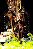 Köhko Wasserspiel Pilze Springbrunnen Teichbrunnen