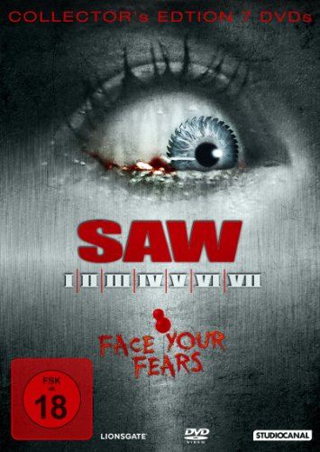 Saw / Saw II / Saw III / Saw IV / Saw V / Saw VI / Saw VII [7 DVDs]