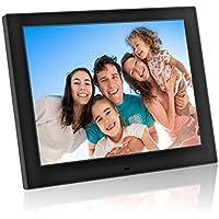 Marco Fotos Digital y Video de 12 Pulgadas, Portaretrato Electronico Pantalla LCD de Alta Resolución