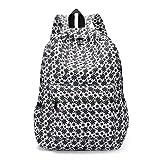 VJGOAL Damen Rucksack, Damen Männer Frischen Stil Rucksäcke Blumendruck Bookbags Weibliche Reise Schultaschen Studenten Rucksack (B)