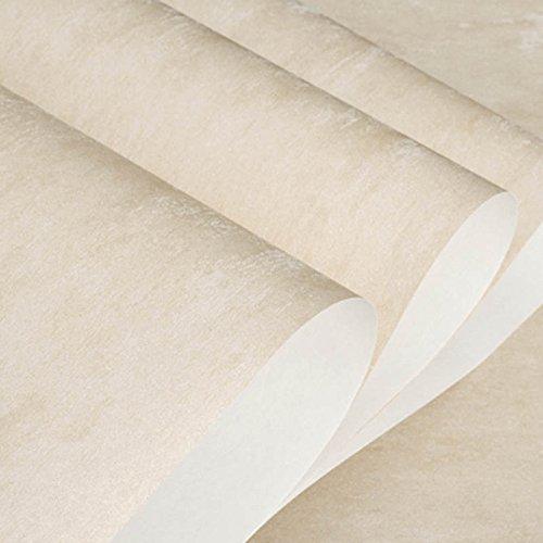 Zhzhco Moderne Und Einfache Vliestapeten Solid Plain Vliestapeten (10 Meter Lang Und 0,53 Meter Breit)