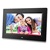 Sungale 10 inch Digital Photo Frame with Remote Control, High Resolution 1024x600 LCD