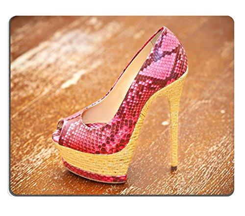 Liili-alfombrilla-de-ratn-alfombrilla-de-ratn-de-goma-natural-imagen-ID-32020152-mujeres-zapatos-alta-tacn-Blue-piel-de-serpiente-de-color-rosa