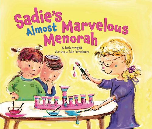 Sadies Almost Marvellous Menorah (Hanukkah)