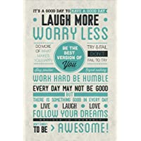 """Pyramid International """" Be Awesome"""" Maxi Poster, Multi-Colour, 61 x 91.5 x 1.3 cm"""