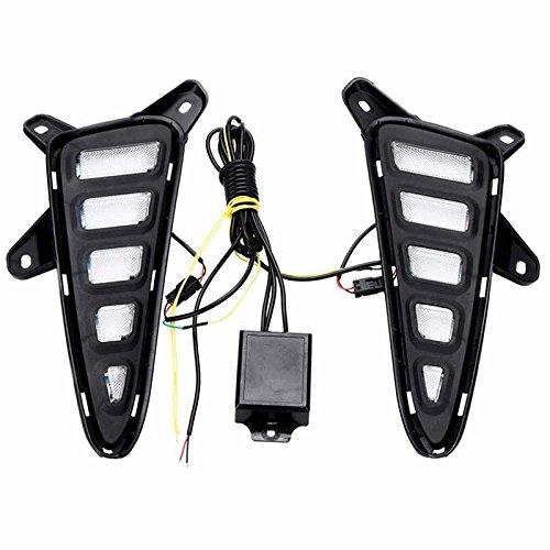Preisvergleich Produktbild wuudi chr Tägliche Lampe LED Auto DRL Lampe Dedicated Tagfahrlicht für CHR