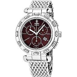 Fendi Reloj de mujer cuarzo suizo 40mm correa de acero F89032H.BR8153