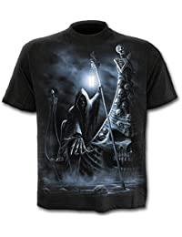 Spiral Men - LIVE NOW PAY LATER - T-Shirt Black