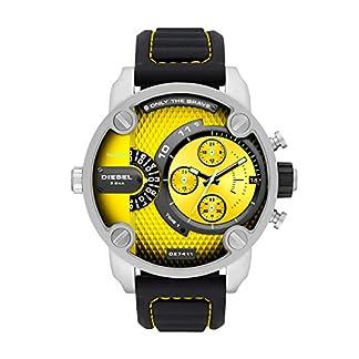Diesel Reloj Analógico para Hombre de Cuarzo con Correa en Silicona DZ7411