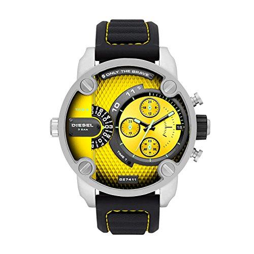Diesel Mens Analogue Quartz Watch with Silicone Strap DZ7411