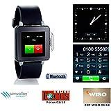 Simvalley PW de 315. Touch Mobile Téléphones (Housse/horloge/Mediaplayer) Noir