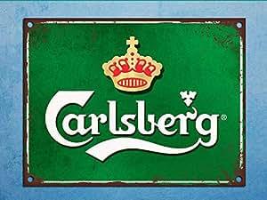 Bar Carlsberg Lager Man Cave Novelty Gift Metal Plaque//Sign Pub