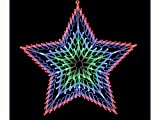 Festive 140LED Fenster Light Star, mehrfarbig mehrfarbig