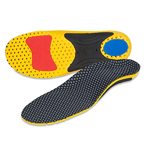 ComMune High Arch Orthotic Inserts Orthotic Insoles Support Injection for Flat Feet, Shoe Insoles for Plantar Fasciitis,Comfort Arch,Feet Pain Support Insoles