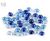 10g 10 el Rey de Plástico Azul Facetado Perlas 6x8mm, Y FIMO