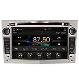 AWESAFE 7 Pollici Autoradio 2 Din Bluetooth Vivavoce, Car Radio con Navigatore per Opel, Supporta il funzionamento del volante USB SD RDS DAB+