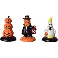 Healifty 3pcs Halloween fée Jardin Miniature Citrouille Figurines décorations Ornements Maison de poupée Accessoires…