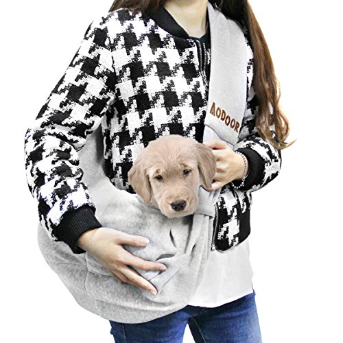 Aodoor-Reversible-Pet-Sling-Carrier-Hands-free-Sling-Pet-Dog-Cat-Carrier-Bag-Soft-Comfortable-Puppy-Kitty-Rabbit-Double-sided-Pouch-Shoulder-Carry-Tote-Handbag