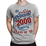 Best Gifts For 18th Birthdays - 18 Years of Being Awesome Mens 18th T-Shirt Review