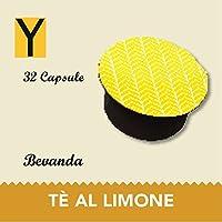 Capsule compatibili con le macchine Nescafè dolce gusto - TE AL LIMONE - Confezione da 32 capsule.