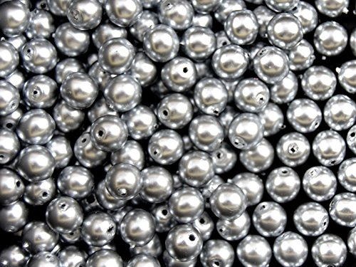 50pcs-czech-glass-beads-pearl-coating-estrela-round-6mm-gray-pearl