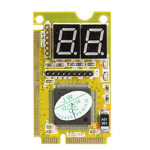Rrimin 3-IN-1 Mini PCI PCI-E LPC PC Analyzer Tester Notebook Combo Debug Card (59673)